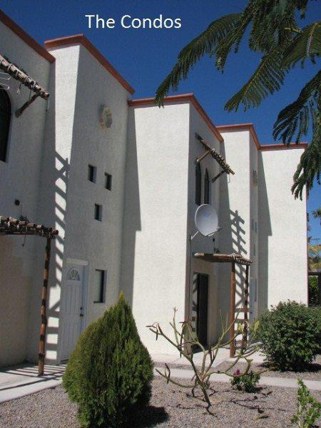 Front of Condos - Olive Tree Villa - Loreto, BCS, SHORT OR LONG-TERM - Loreto - rentals