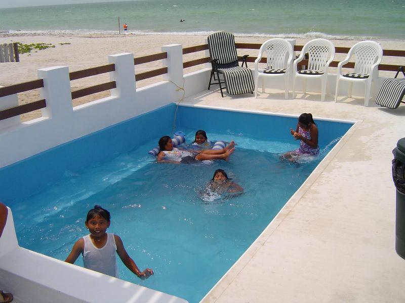 Private pool - Casa Magica, Beachfront, Pool, High Speed internet - Chicxulub - rentals