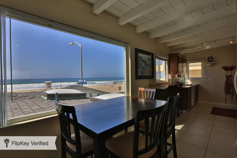 Gorgeous Ocean Front View from the Living Room!! - San Diego  Full Ocean View Zanzibar Jewel Condo One House from the Ocean!! - Pacific Beach - rentals