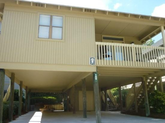 Raised Beach Cottage, 1 block from the ocean - Awesome Vacation Cottage 1 block to the beach & 1/2 block to a Scenic Salt Water Inlet & Marsh. - Myrtle Beach - rentals