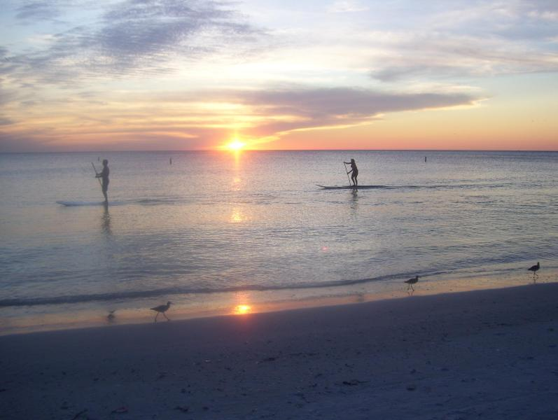 """Sunset - """"A Place In the Sun"""" - Treasure Island - rentals"""