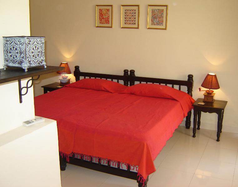Pool facing bedroom - Luxurious 3 Bedroom Row Villa  in Goa near Beach - Benaulim - rentals