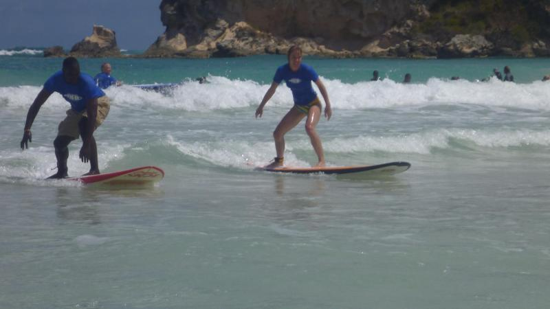 take some surfing lessons - Oasis Tranquilo - Romantic condo, minutes to beach - Punta Cana - rentals