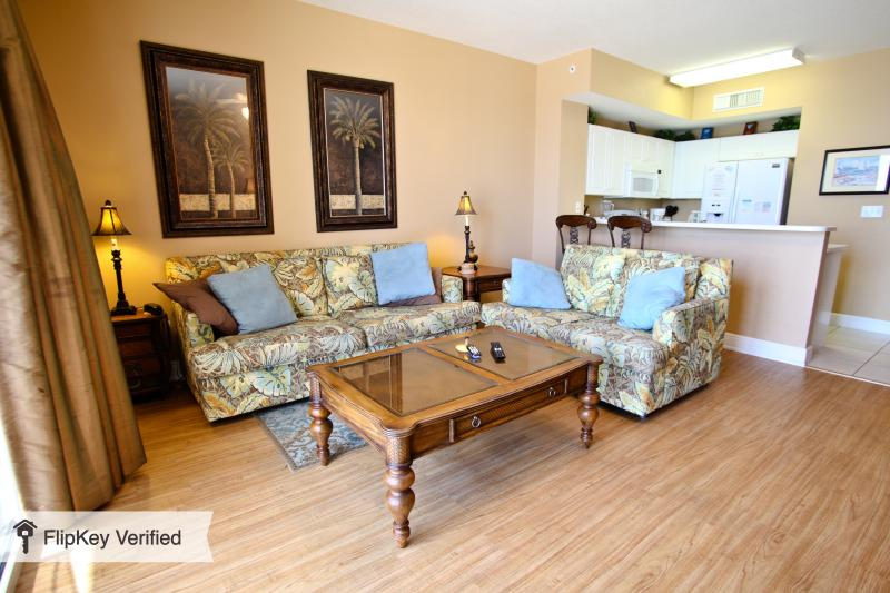 Celadon Beach Resort Unit 303 - with Beach Chairs - Image 1 - Panama City Beach - rentals