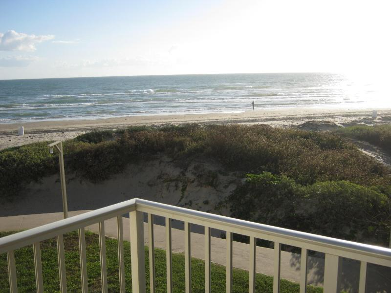 View from Balcony - beach front 1br on south padre island, texas (208) - South Padre Island - rentals