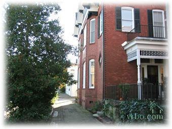 Lovely Street of Brick Townhomes - 1800's Town Home on Beautiful Forsyth Park - Savannah - rentals