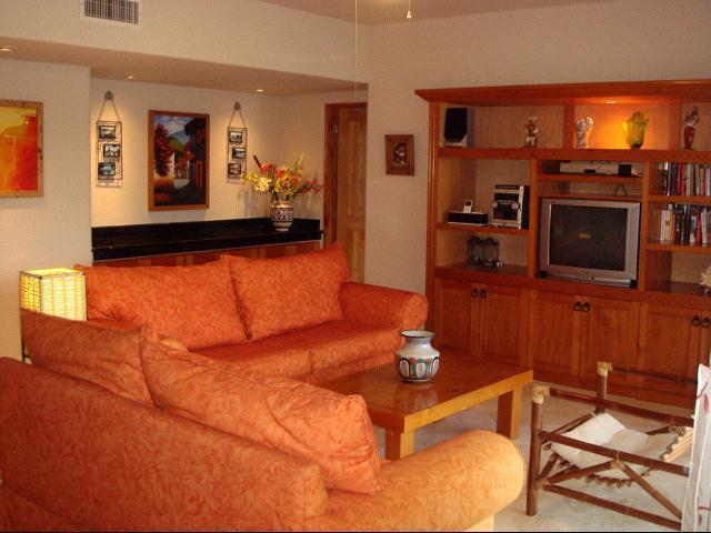 Living Area - Villa del Mar Beachfront-SPRING BREAK AVAILABILITY - Puerto Aventuras - rentals