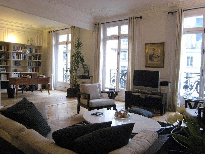 Living Room with TV, great views and open to the large Studio - Luxury Vacation in Saint-Germain des Pres, Paris - Paris - rentals