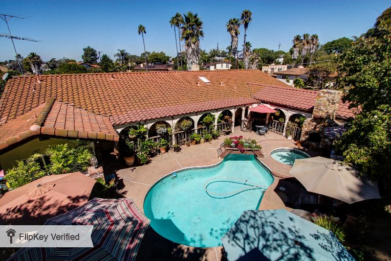 View of Hidden Hacienda from Three-House - LongTerm Winter Discount on Hacienda - Attractions - Pacific Beach - rentals
