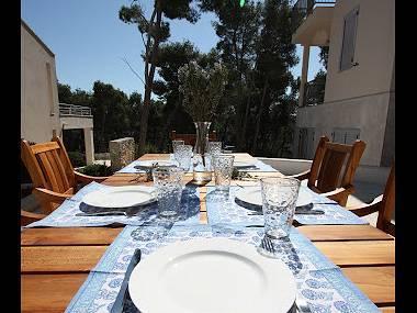 H(6+2): terrace - 5233 H(6+2) - Milna (Brac) - Milna (Brac) - rentals