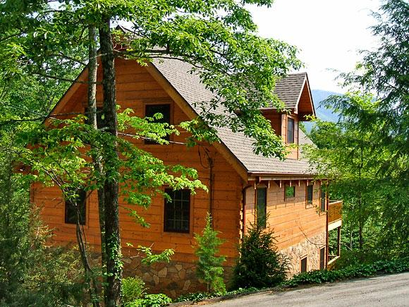 Exterior Side - Elkhorn Lodge - Gatlinburg - rentals