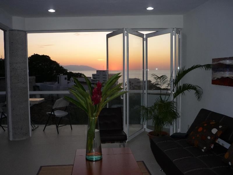 view from living room - Ocean Views in Vallarta and close to everything - Puerto Vallarta - rentals