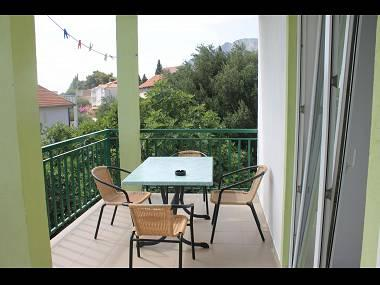 SA2(2+2): terrace - 5802 SA2(2+2) - Gradac - Gradac - rentals