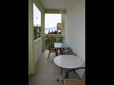 SA3(2+1): common terrace - 5802 SA3(2+1) - Gradac - Gradac - rentals