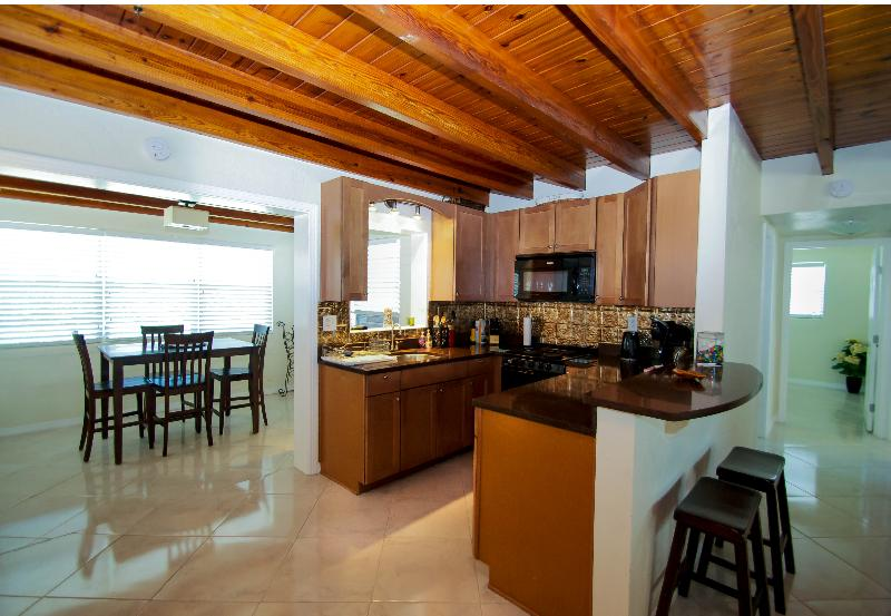 Kitchen(alternate angle) - Home $pecials- Vacation Home #3107 - Kiwi Cottage - Daytona Beach - rentals