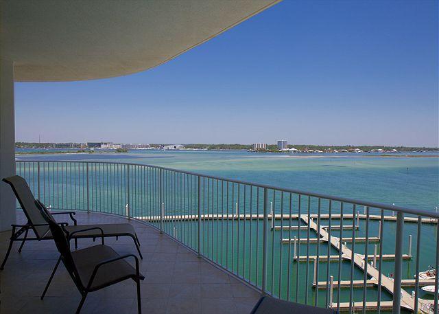 Balcony - Caribe C607- Orange Beach, AL - Open Dates: April 18 - 28 - Orange Beach - rentals