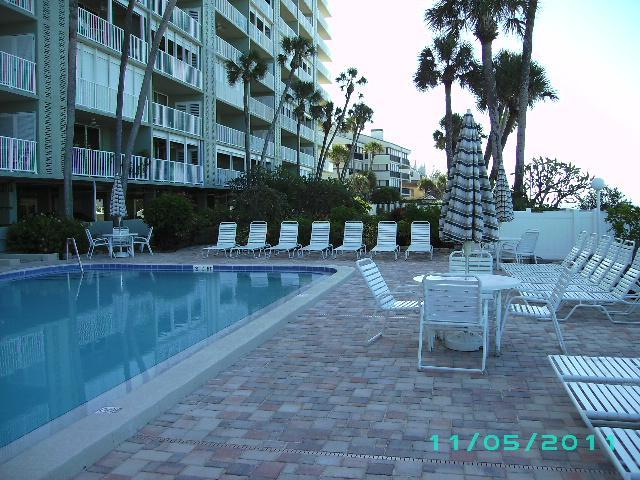 Pool Area - Breathtaking High Rise View on the Water. Updated! - Indian Shores - rentals