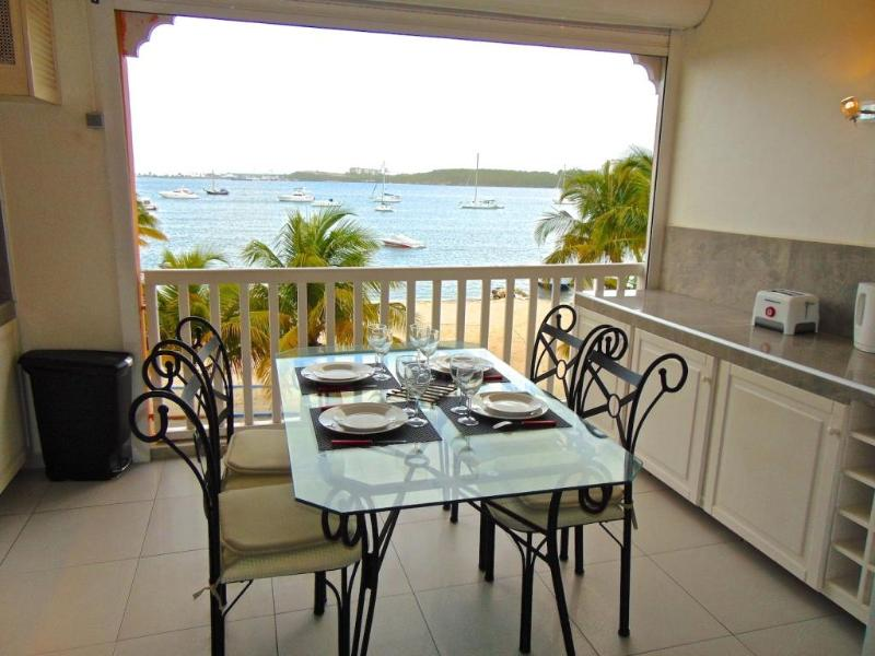 Jasmin Apartment amazing view on Caraibes Lagoon - Image 1 - Baie Nettle - rentals