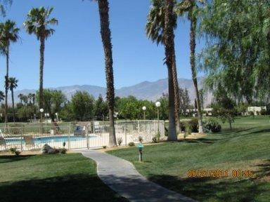 Pool just out the door - Palm Springs Condo on the Fairways - Cathedral City - rentals