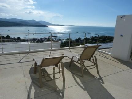 3 bedroom sea view villa with pool near Big Buddha - Image 1 - Koh Samui - rentals