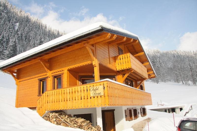 Chalet Rose - 16p luxury chalet opposite skislope in Chatel (Fr) - Chatel - rentals