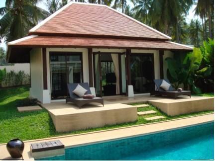 3/4 bedroom villa in tropical landscape with pool - Image 1 - Koh Samui - rentals