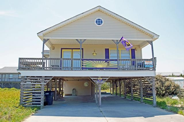 KH3632- BEACH BABY; SEMI-OCEANFRONT W/ VIEWS! - Image 1 - Kitty Hawk - rentals