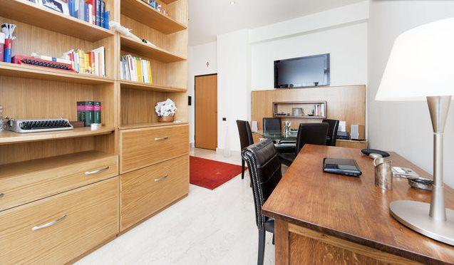 living room - Rome centre, chic flat in Restauro Pantanella - Rome - rentals