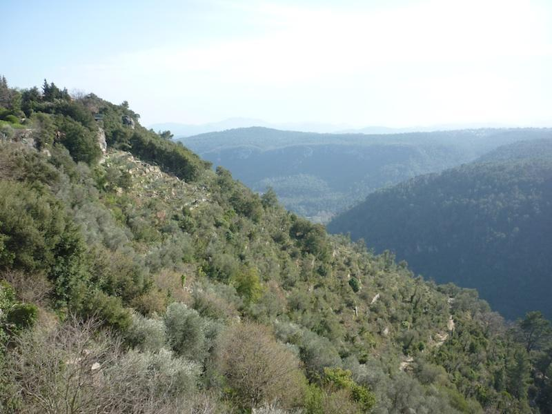 View from apartment - South of France Apartment with Panoramic View - Saint-Cezaire-sur-Siagne - rentals