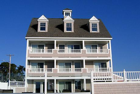 Breakers Front View - Cape Cod 2 BR Condo at the Beach  Aug 4-11, 2017 - Dennis Port - rentals
