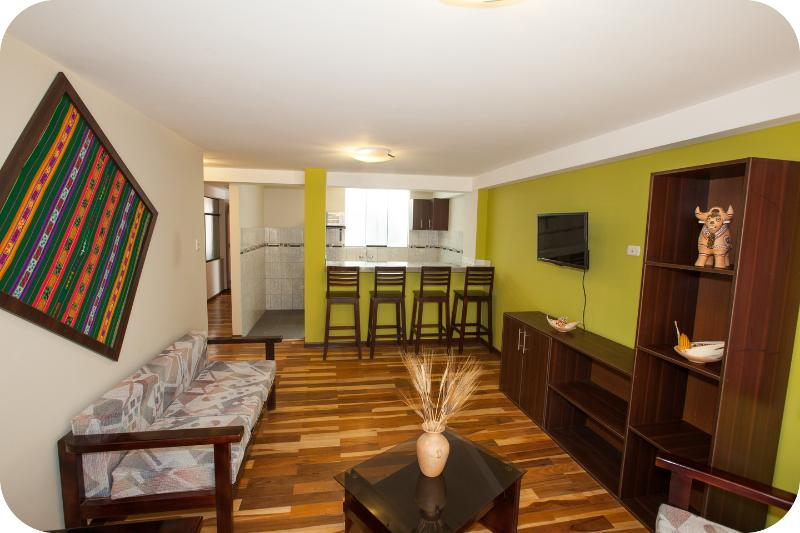 LIVING ROOM 1 - COMFORT  AND  ELEGANCE - Cusco - rentals
