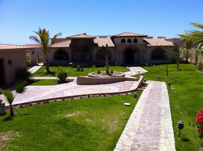 Front - Luxury home in San Jose Del Cabo, MX - Estacion Catorce - rentals
