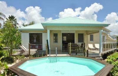Contemporary villa, pool, garden, beach - Image 1 - Sainte Anne - rentals
