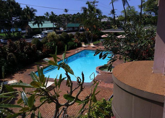 Spacious two Bedroom, two Bath Ocean View condo, close to town - Image 1 - Kailua-Kona - rentals