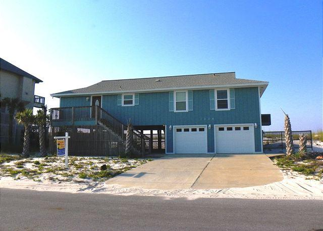 This Gulf front home has garage parking available. - Ariola 1204 - Pensacola Beach - rentals