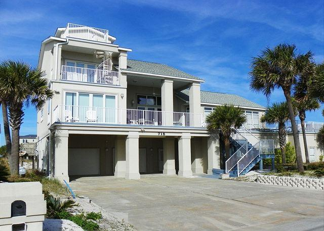 This home has lots of parking space, huge decks and amazing views of the Gulf. - Ariola 715 - Pensacola Beach - rentals
