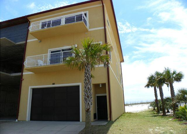 This spacious end unit has a large garage, two levels of living space and great views from the many balconies. - Regency Cabanas #B8 - Pensacola Beach - rentals