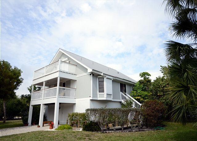 Exterior - Stilted home with pool and dock - Sanibel Island - rentals