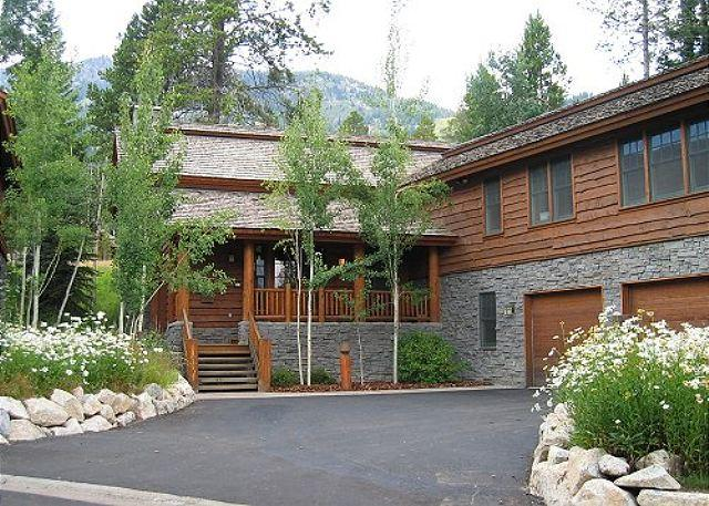 Summer Exterior - Great Home in Teton Village - Enjoy Skiing and Mountain Biking! - Teton Village - rentals