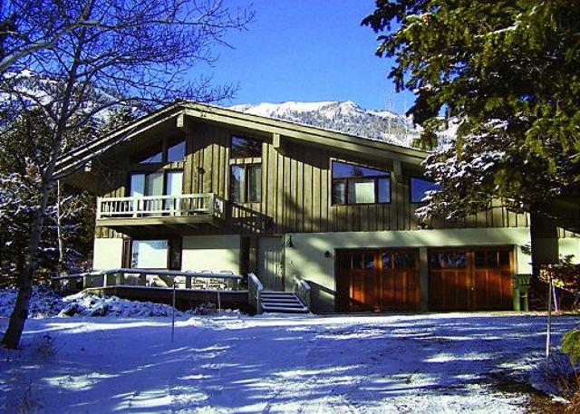 7255 Rachel Way exterior - Great Location in Teton Village for your Family-Winter seasonal rental option - Teton Village - rentals