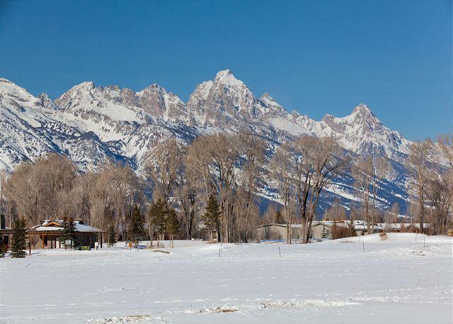 Trapper 10 - Winter View - Trapper10 - Jackson - rentals