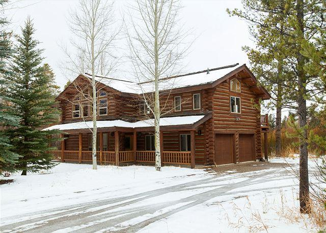 3770 S. Lake Creek - Exterior - 3770 Lake Creek - Enjoy this Cabin in The Aspens! - Wilson - rentals