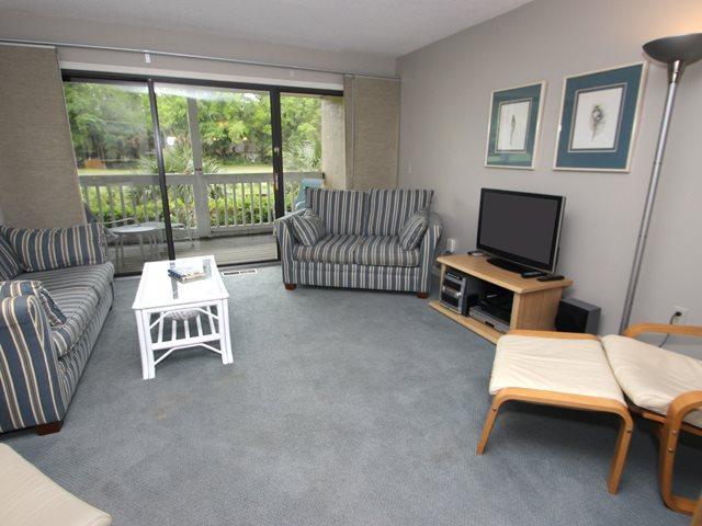 Living area 2 - Colonnade Club, 191 - Hilton Head - rentals