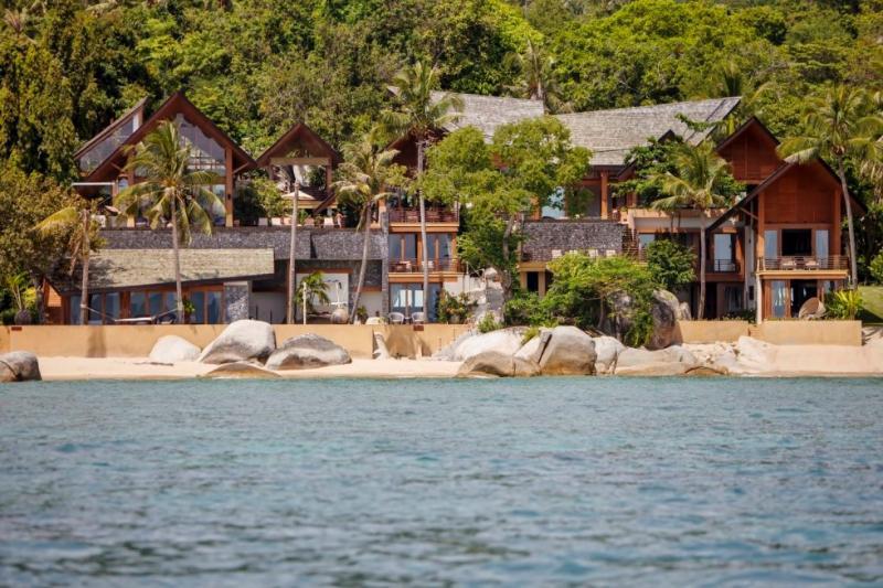 Baan Hinta and Baan Hinyai: This modern beach front development features two epic villas - Baan Hinyai, 5BR Modern Beach House on Lamai, Wedding, Family, Big Group - Lamai Beach - rentals