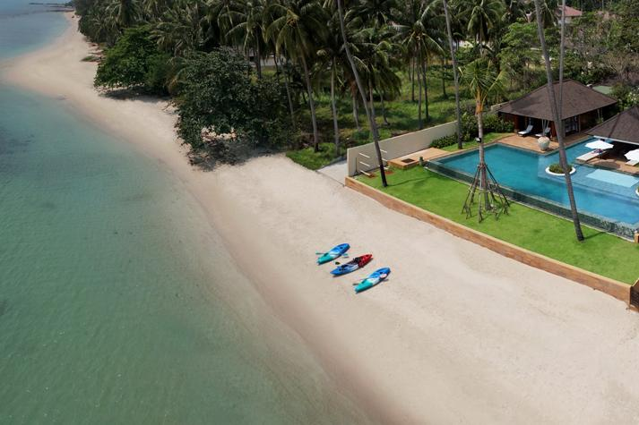 Ban Mekkala, 6BR Leam Sor Beach Villa, Weddings, Family, Big Groups - Image 1 - Koh Mat Sum - rentals