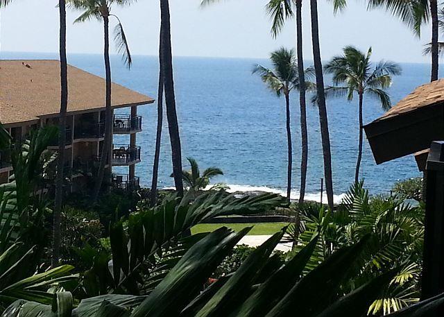 View of Ocean from Lanai - Kona Makai 5305 1 Bedroom + Loft and 2 Lanais! **New Addition to Inventory!** - Kailua-Kona - rentals