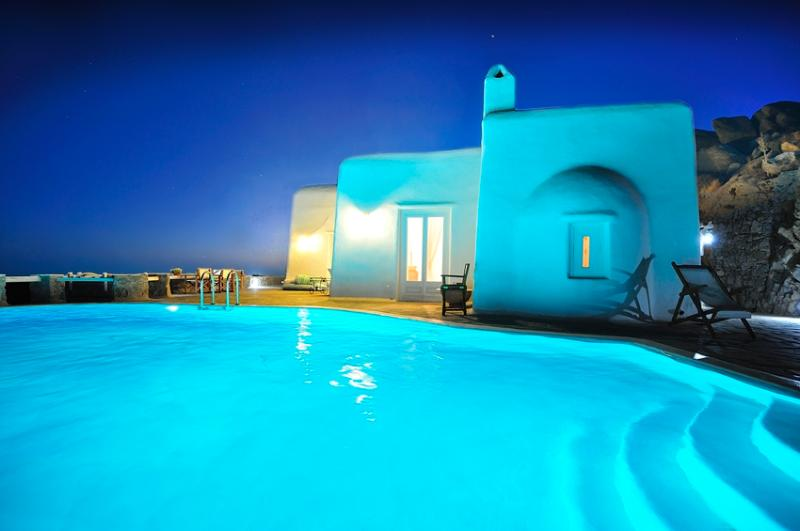 Blue Villas | Orion Villa | Secluded - Image 1 - Mykonos Town - rentals