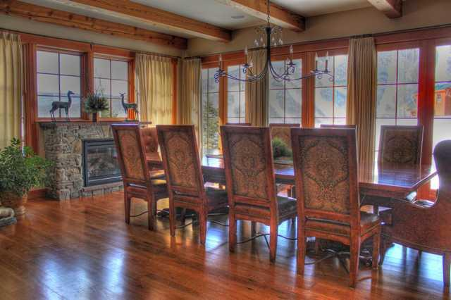 Dining room - Big Spruce - Stowe - rentals