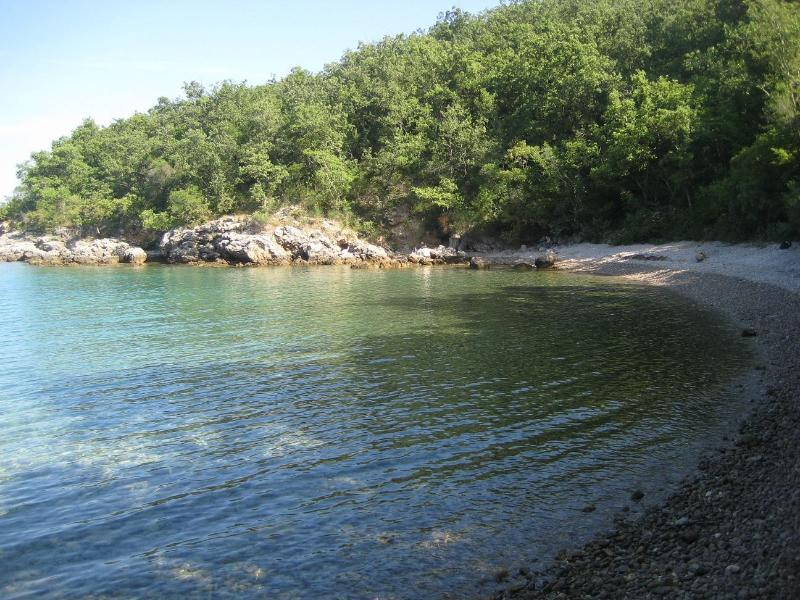 Bay below the house - Villa Matiz on Krk with great garden and SEA VIEW! - Krk - rentals
