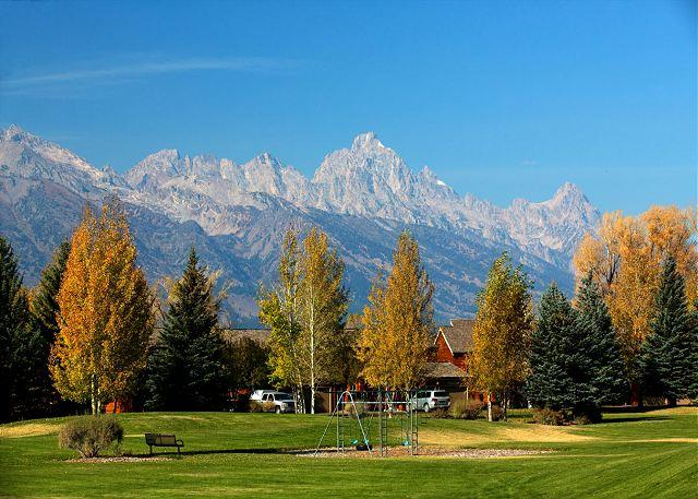 View from common area at Teton Shadows - Great Jackson Hole Location at Teton Shadows! - Jackson - rentals